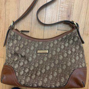 Brown Rosetti purse